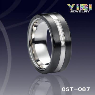 Men's ceramic ring