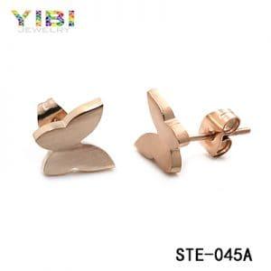 Cute stainless steel earrings, wholesale jewelry