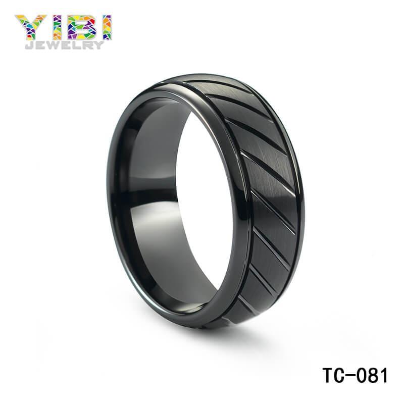 fashion tungsten jewelry manufacturer