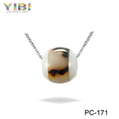 trendy ceramic pendant