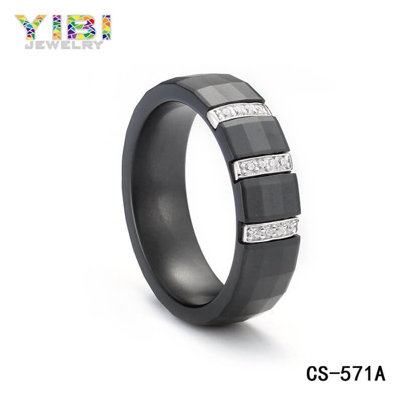 Black ceramic jewelry