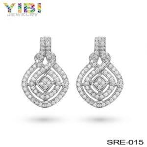 brass new fashion earrings wholesale china