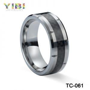 tungsten carbon fiber ring
