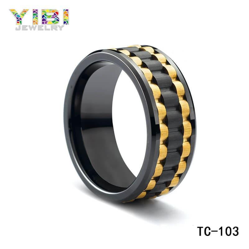 Custom black tungsten rings, tungsten ring suppliers