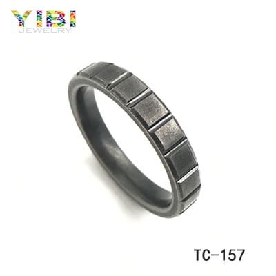 4mm tungsten men's wedding band, men's jewelry manufacturers