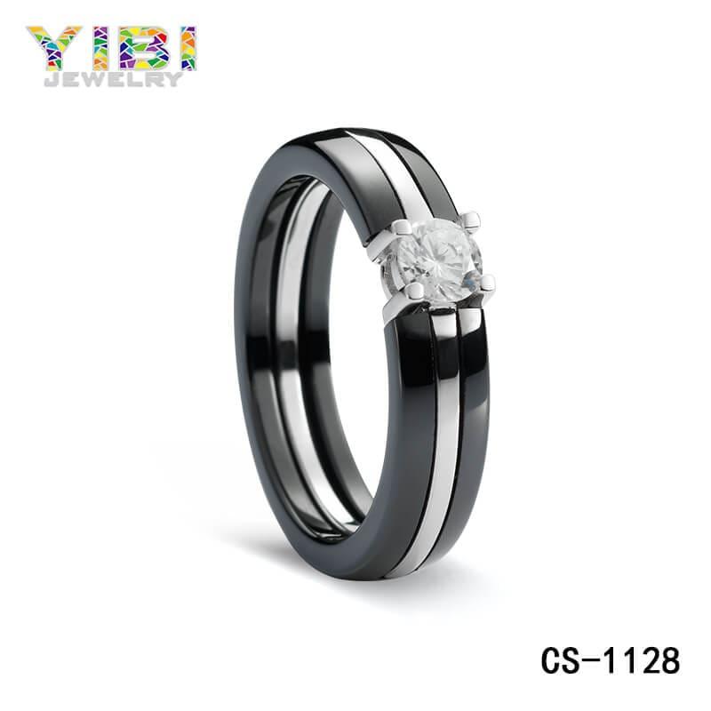 Ceramic cubic zirconia jewelry OEM manufacturers