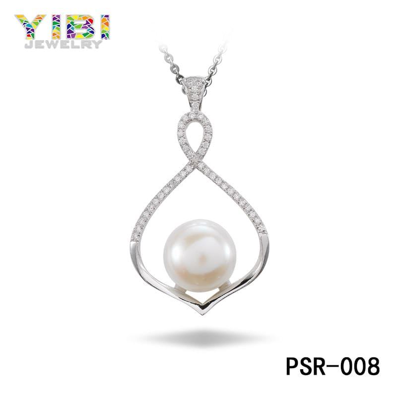Brass pearl wedding jewelry OEM factory