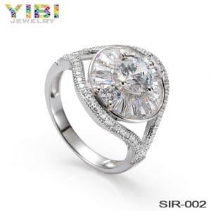 Women small luxuries fine brass rings jewelry