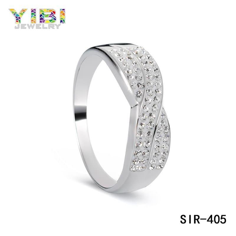 Custom cubic zirconia brass jewelry manufacturers