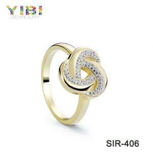 Classic women brass wedding rings