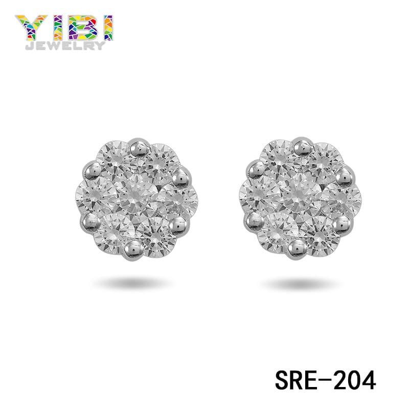 women brass earrings wholesale