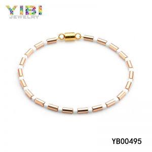 Rose Gold Plated Women Stainless Steel Bracelet