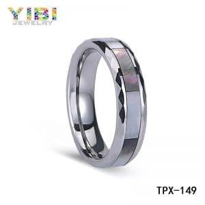 Men's tungsten wedding bands