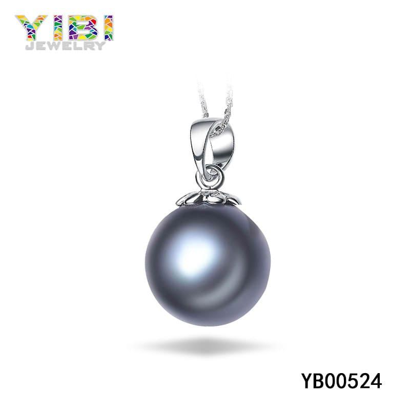 brass black tahitian pearl jewelry