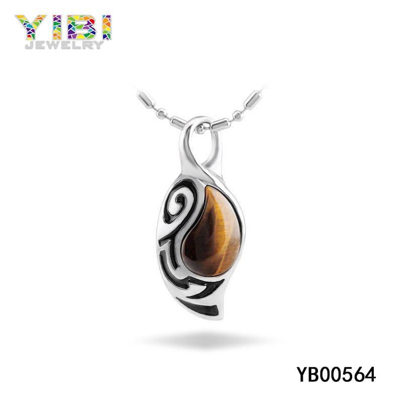Tiger eye crystal pendant