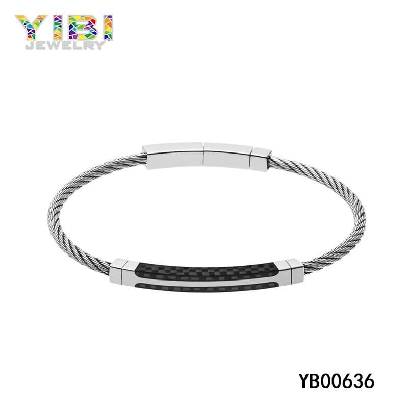 Surgical steel bracelets