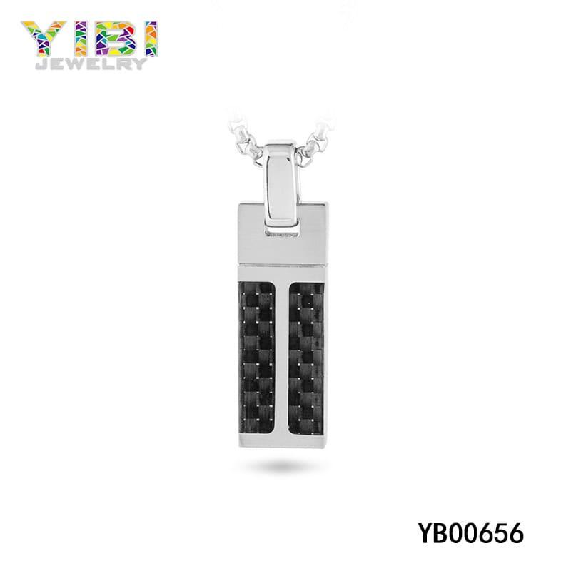 Carbon fiber pendant