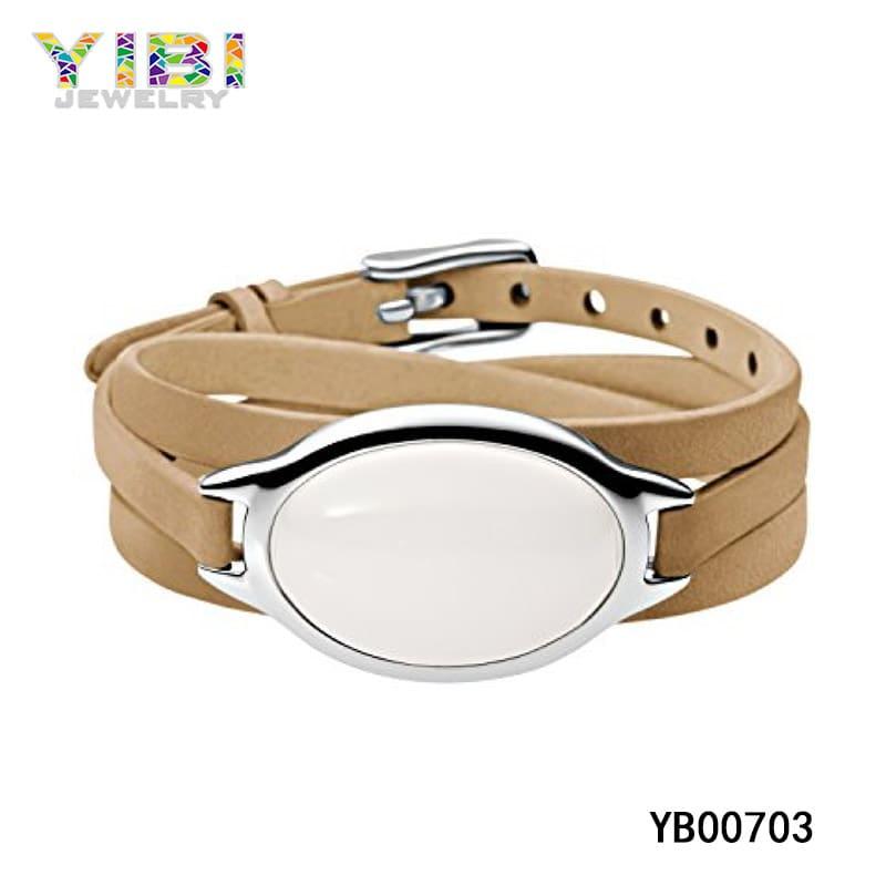 ladies leather bracelets manufacturer