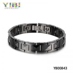 Black tungsten bracelet