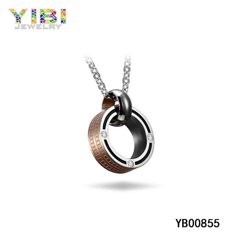 Men's titanium necklace