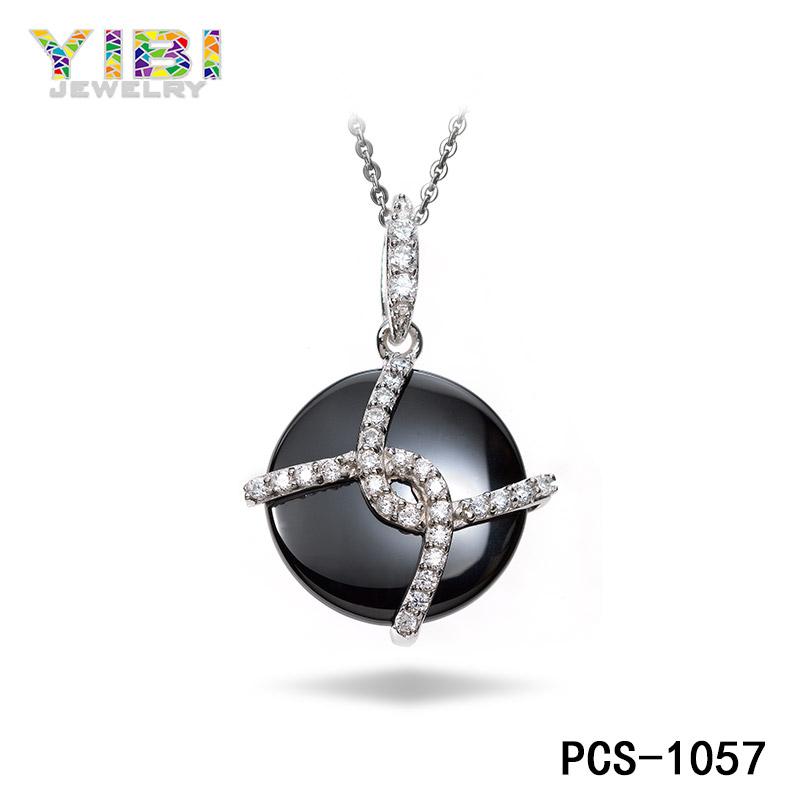 fine ceramic silver jewelry