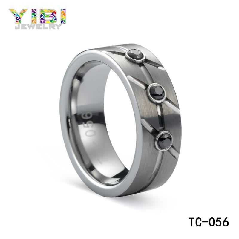 High quality tungsten cz jewelry