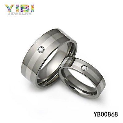 cz inlay titanium jewelry manufacturer