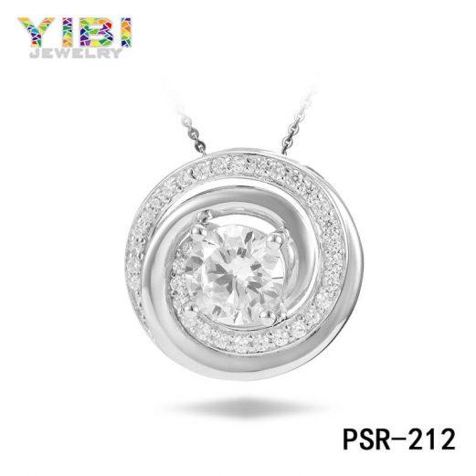 Cubic Zirconia Inlay Women Brass Jewelry