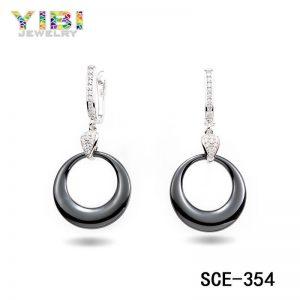 black ceramic earrings manufacturer