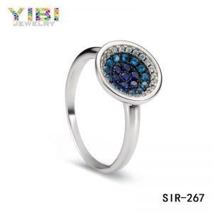 Pretty Women Brass Cubic Zirconia Wedding Rings