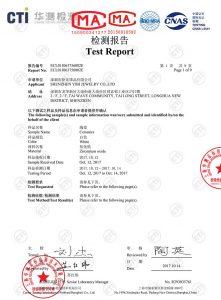CTI Certificate white ceramic
