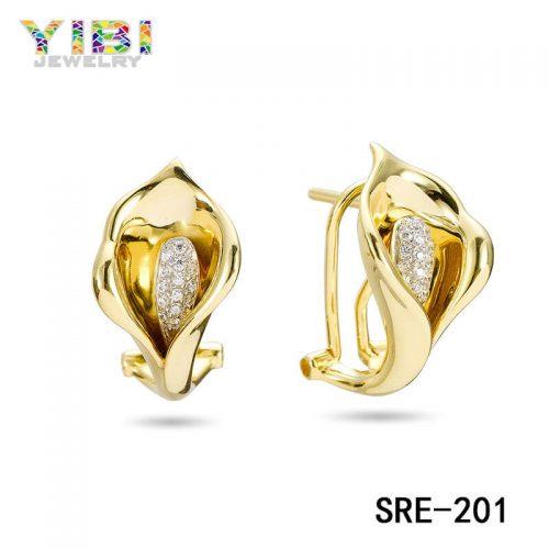 Rose Gold Brass Earrings manufacturer