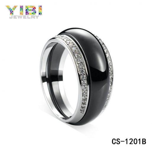 High-tech Ceramic 925 Silver Jewelry