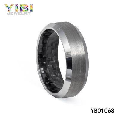 Tungsten Carbon Fiber Jewelry Supplier China