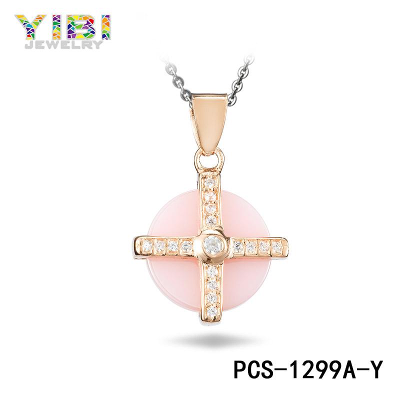 Pink Ceramic Jewelry