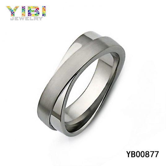 Classy Titanium Infinity Ring Manufacturer
