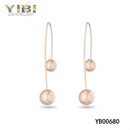 Rose Gold Jewelry Earrings
