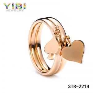 Rose Gold Fashion Roestvrij Stalen Sieraden