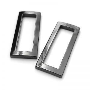 Yibi OEM/ODM Customized Zirconia Ceramic Bag Hardware Square Ring